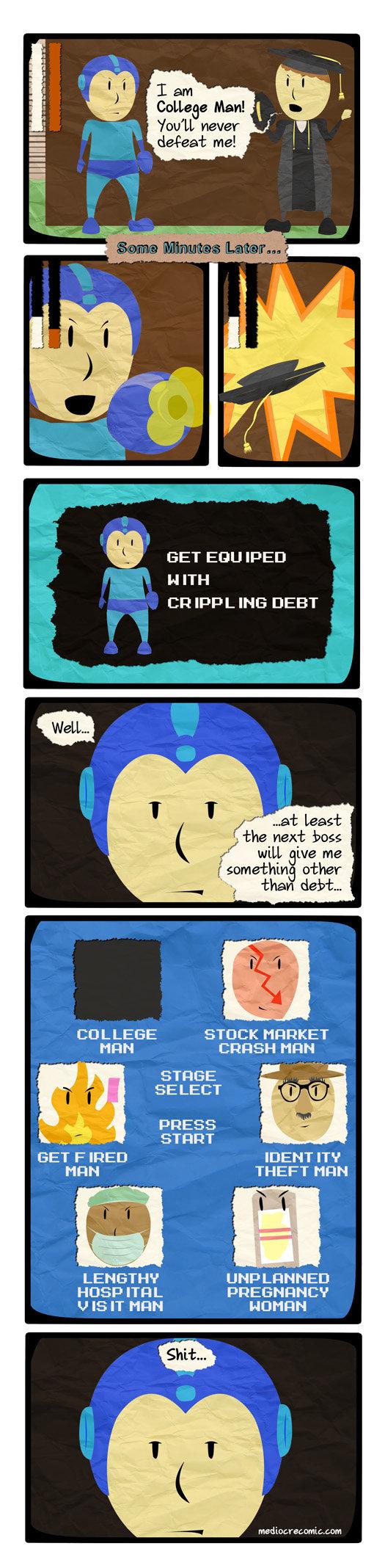 "Mega Man. . Elam never ill, GET IF' EEI CH IPP L ING DEBT 1: 116 next : lolit' l MR Elva me other dsotm f somethin mi, the STUCK Ill"" -IFFIER HRH SELECT lloll.,"