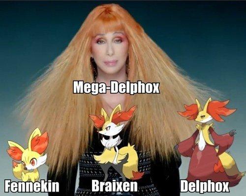 Mega-Delphox Confirmed!. .. Team Fennekin!