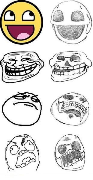 Meme Skulls. .. repost seen it before