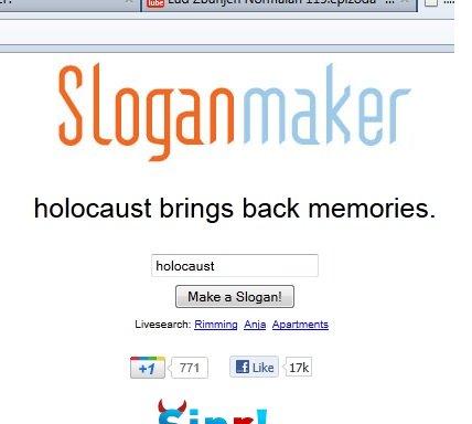 Memories. . Sloganmaker holocaust brings back memories. holocaust Fania