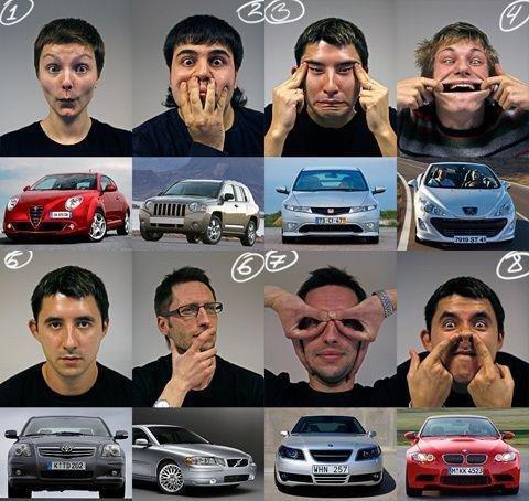 Men vs. Cars. mew.. Cars vs Men