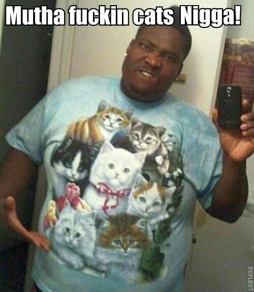 Meow Mutherfucka. . eats '