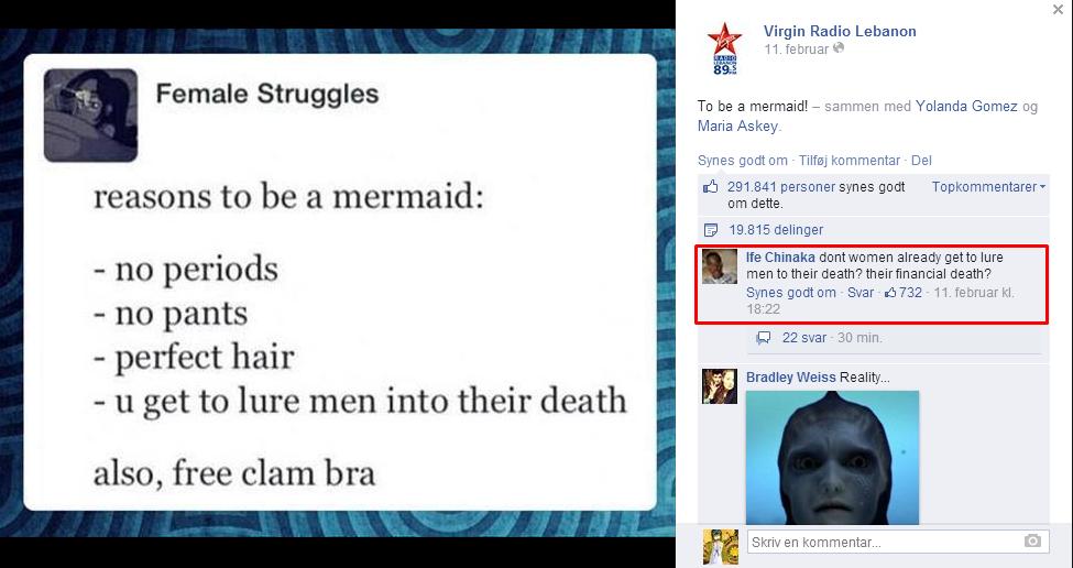 Mermaid wife. . Virgin Radio Lebanon 11. ter. ornare To be a mermaid! - sammen med Yolanda Gomez tug Maria Asker Female Struggles Synes goddom Thecommenter Del