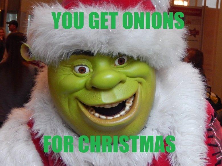 Merry Shrekmas. . fait( ' ithit. shrekis