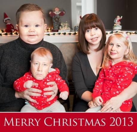 Merry Chr... Ummm. . MERRY CH !\/ 2013. Pure gold.