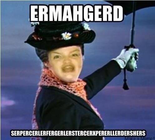 """Merryperrperns. . Iil. Shouldn't that be: """"SERPERCERLERFRERGERLERSTERCERXPERLERDERCERS"""" Gif unrelated."""