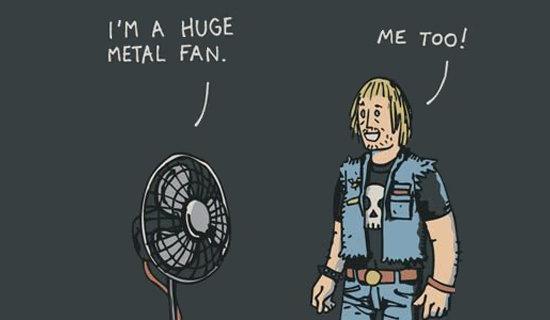 Heavy Metal Jokes | Kappit