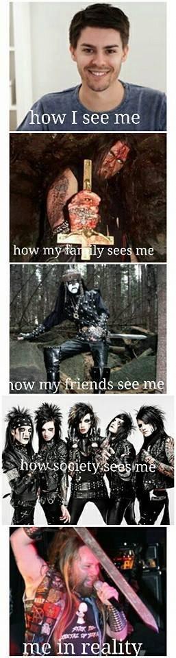 Metalhead Problems. .. how i see you