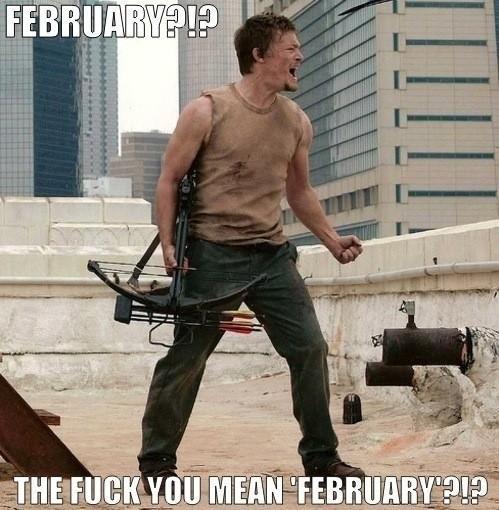 MFW The Walking Dead Mid-Season break.. .