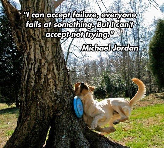 "Michael jordan on failure. . fails at ! iti' ti' outfit t"" ii' lliw"