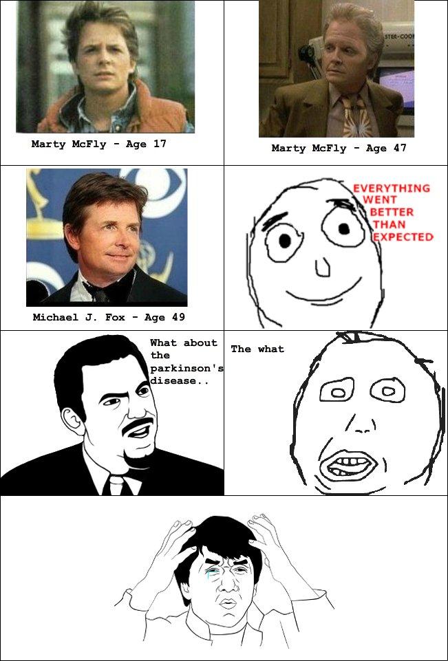 Michael J. Fox. ಠ_ಠ. Michael J Fox is amazing