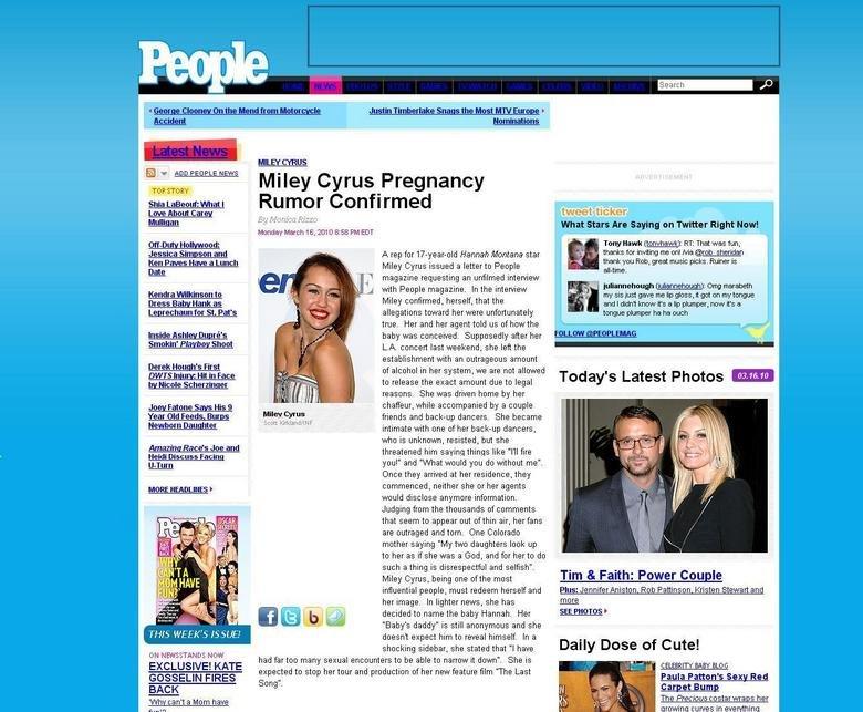 Miley Cyrus Pregos. Your Eggo is now Prego. MILEY CYRUS Miley Cyrus Pregnancy ..2.' it it ADD PEOPLE NEWS TAIP. SOCI RY Tony Hawk ]: RT: That was fun, thanks fo miley cyrus pregnant funny article