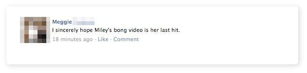 Miley's Last Hit Video. . Miley last Video bong facebook status