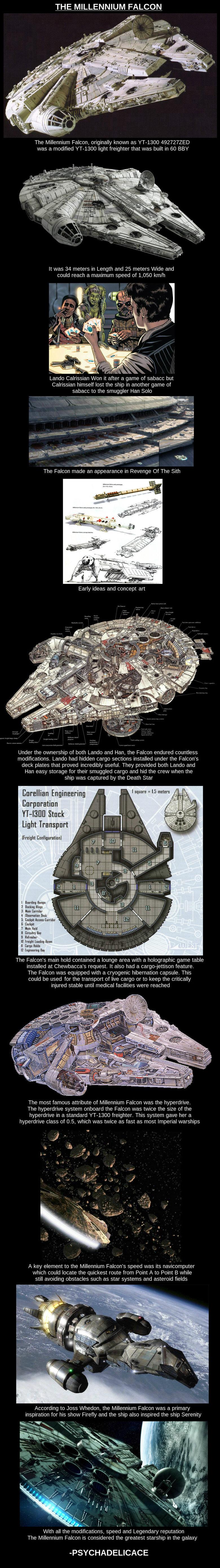 Millennium Falcon. .