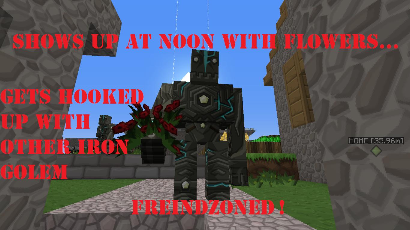 Minecraft Friend Zone. Why you no love me ?.