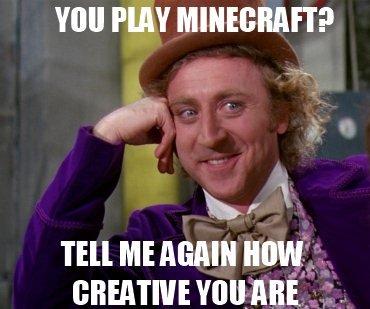 Minecraft. true story. allthe klav l Tell ME MMI HOW .. czech out my latest post