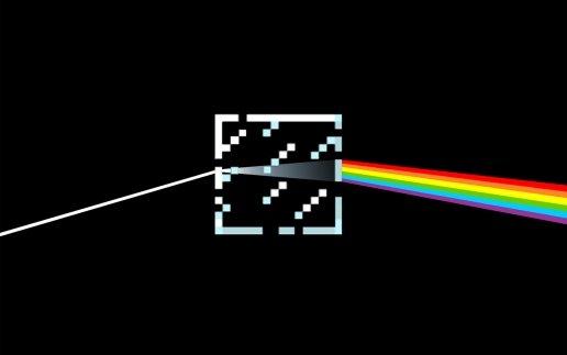 Minecraft Pink Floyd. .. My background. xD minecraft pink f