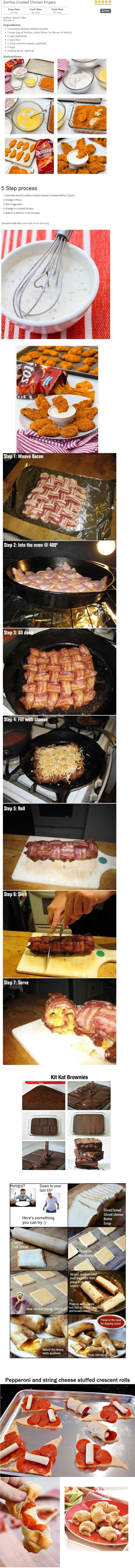 Mini food comp. I decided to make a food comp, I hope you guys enjoy. More to come soon!.. [Cholesterol Rises Internally]