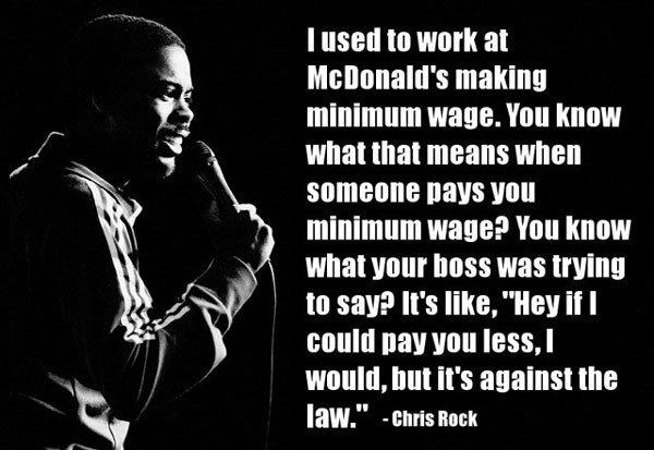 "Minimum Wage. . I ""SEE tta WEIR at s making minimum . llortt when that means when someone [ Mm minimum ? VIII] 1. -ma! ' tattos toying Willi"", Mt ""' s against t"