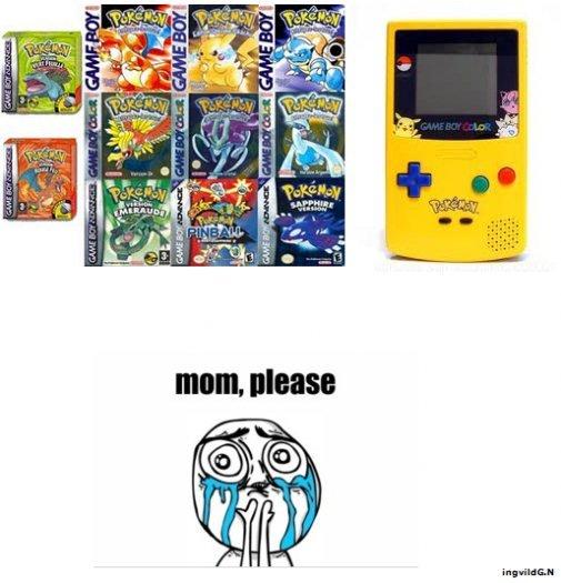 Mom Please!. niiice. aur. where the is pokemon ruby man