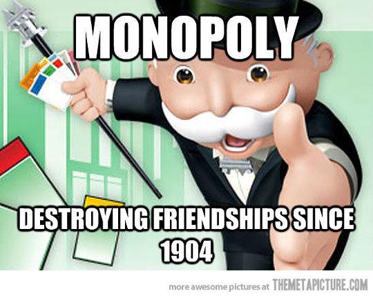 Monopoly. . Iri IMF: