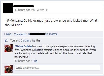 Monsanto Orange. .. I feel kinda bad for the ones that dont get this..