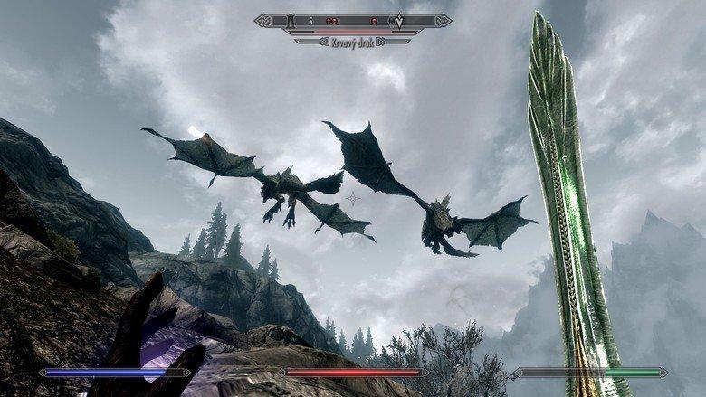 Morbid for beginner Skyrim players. .. < YFW looting them both. skyrim dragon Blood Dragon