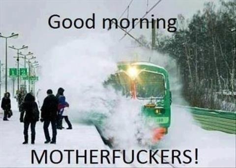 Morning!. .