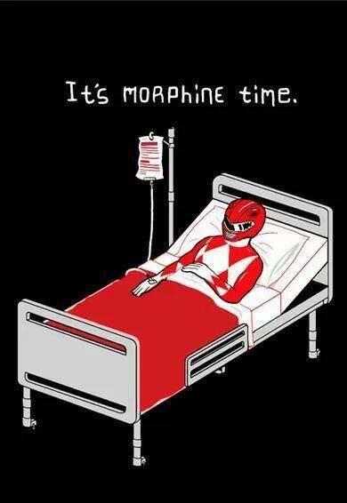 Morphine. .