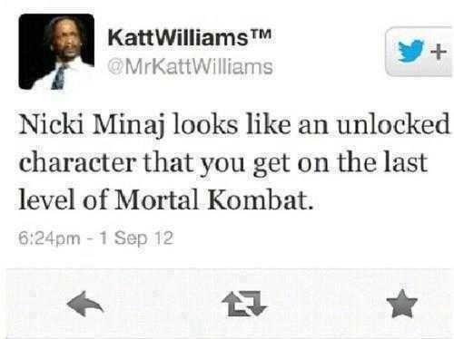 Mortal Kombat unlockable. . Nicki Ming looks like an unlocked character that you get on the last level of Mortal Kombat. Als, er ltr. Her fatality would be something like that of Sindel. SCREEEEEEEEEEEEEEEEEEEEE