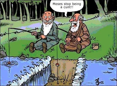 Moses. .. Thou mad?