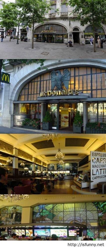 Most wonderful McDonald's in the world. Most wonderful McDonald's in the world, in Porto Portugal isfunny.net/most-wonderful-mcdonalds-in-the-world-in-porto-por funny