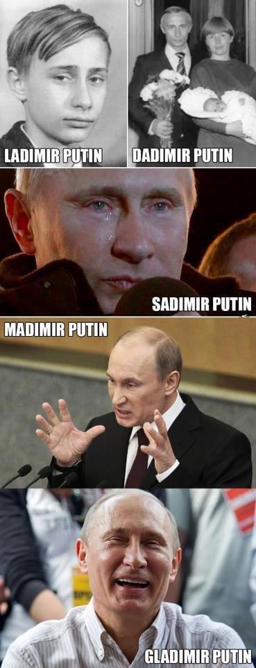 mr putin. .. Radmir Putin