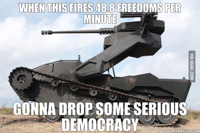 'MURICA. freedom/10 would democracy. WEED] ' FEE} Hi WEB. i prefer StuG III