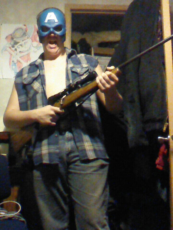 'Murica. yeah!!!.. CANADA! SORRY EH! Murica gun america