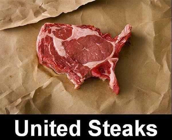 'Murica. . United Steaks. Of ham-erica?