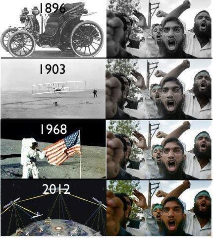 muslims logic. .. can someone explain this joke?