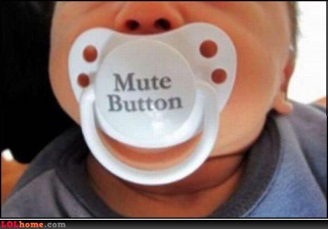 mute button. hate kids!.
