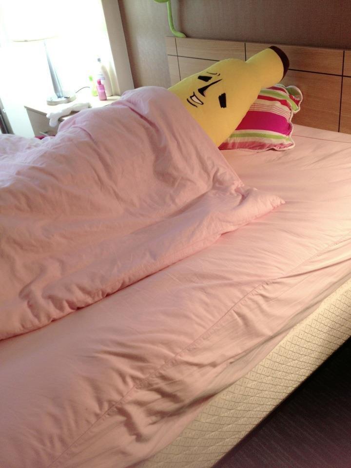 My body is ready. . funny Banana Bed body Ready