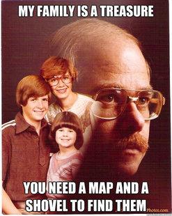 My Family Is Like Treasure. . Illgal ftld TI-' m/ Illia A MAP an A Til will THEM