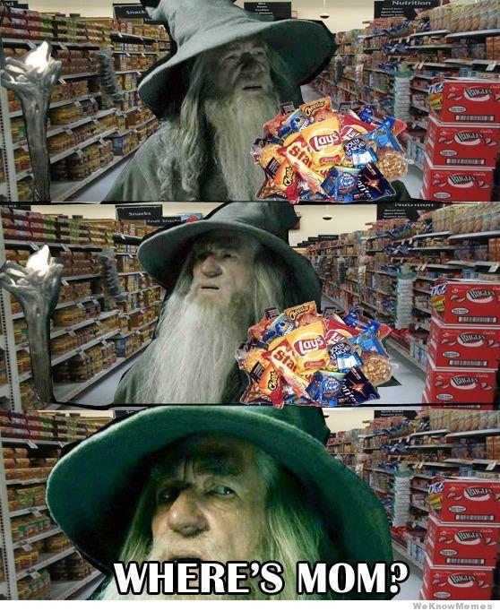 My fav Gandalf meme. Thus far..