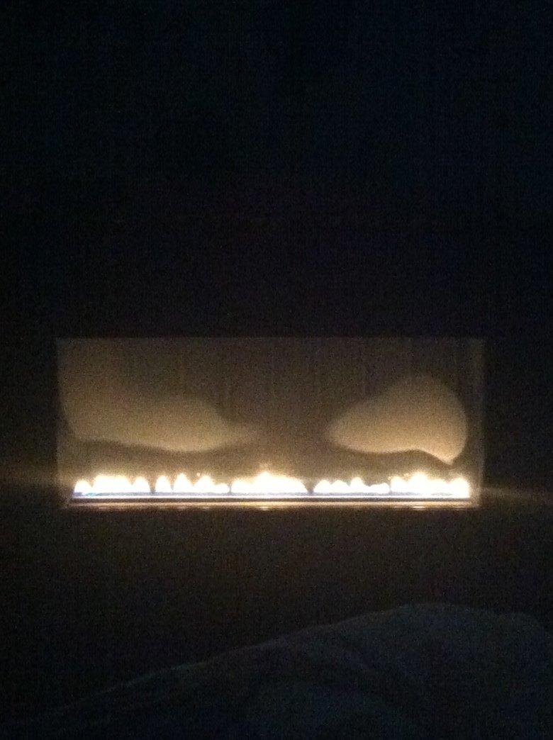 My fire looks like gengar. .. mfw