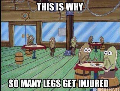 MY LEG!!. . MY LEG soggypancakes