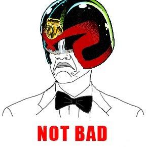 My reaction to Judge Dredd. . judge dredd