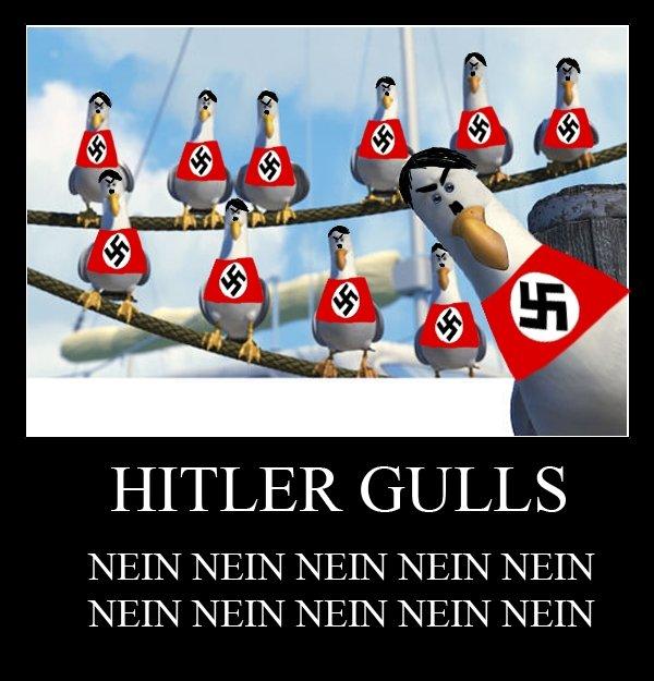 NEIN. . HITLER GULLS