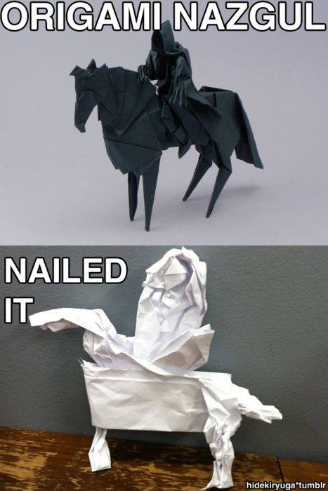 Nailed it. .
