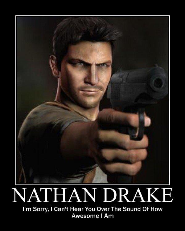 Nathan drake shirtless code