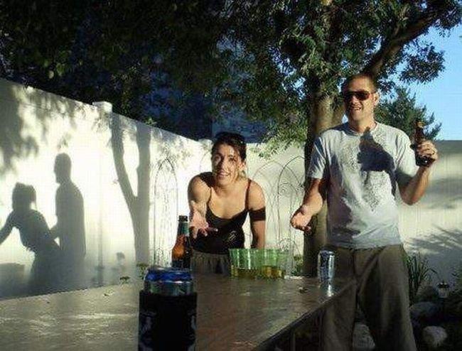 Naughty Shadows. . funny shadow sex Couple Illusion sun
