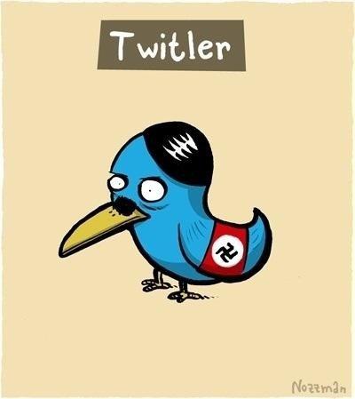 Nazi Social Media. Twiltler.