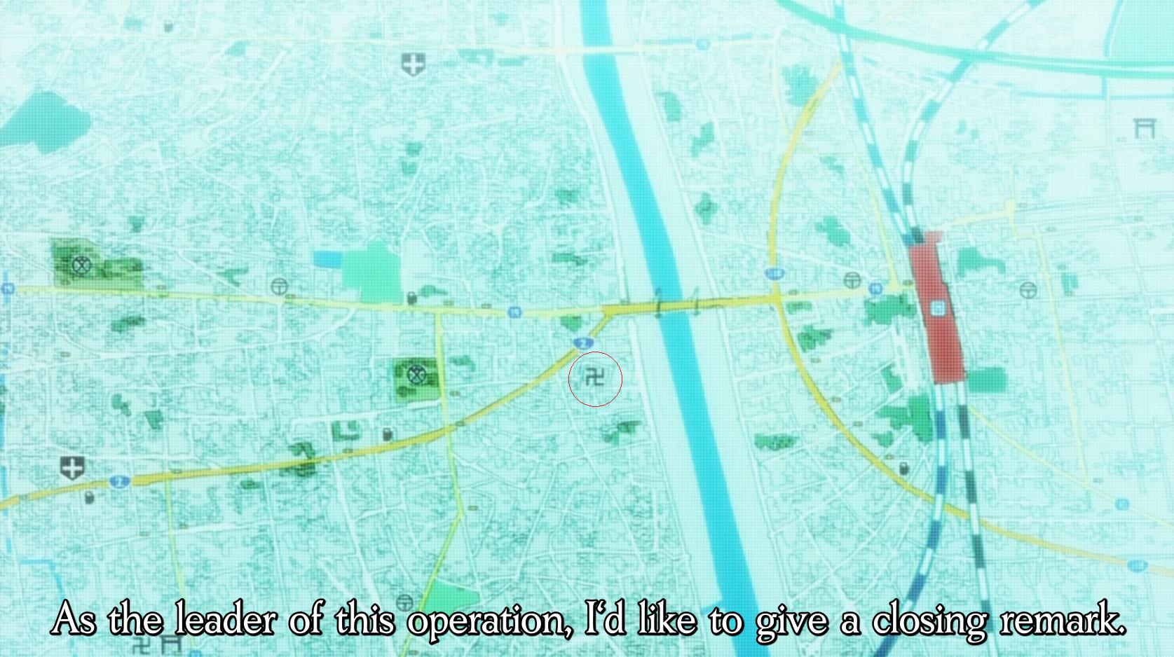 Nazis are everywhere. Shakugan no Shana F ep18.. Gnetlemn, ve are Nazis Nazis in Anime Damn it Hitler
